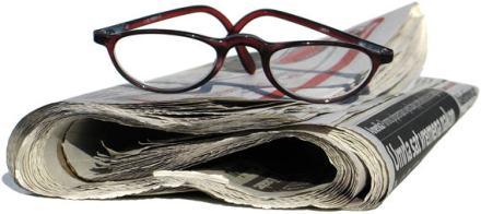 newspaper-glasses