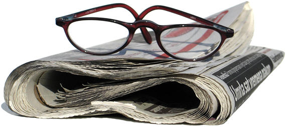 newspaper-glasses